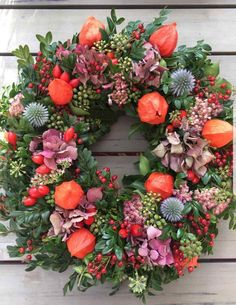 Dried Flower Wreaths, Dried Flowers, Autumn Wreaths, Holiday Wreaths, Christmas Art, Christmas Decorations, Mothers Day Flower Pot, Deco Floral, Wreath Forms