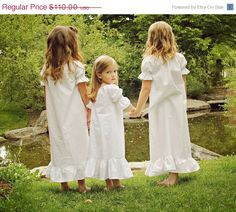 Moving Sale Short Sleeve Organic Cotton Night Gown - Size 10 ONLLY