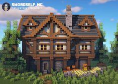 Minecraft House Plans, Minecraft Mansion, Minecraft Cottage, Minecraft Castle, Minecraft House Tutorials, Cute Minecraft Houses, Minecraft House Designs, Amazing Minecraft, Minecraft Blueprints