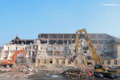 Abbruch Kaserne: 16 Gebäuden (gut 100.000 m3 umbauter Raum) mit in sensibler Lage (Gelände in Innenstadtlage mit Randbebauung aus Wohnhäusern)