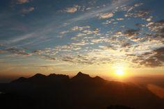 Beautiful sunset viewed from Alto do Sumaré; #MarcosEstrella #RiodeJaneiro