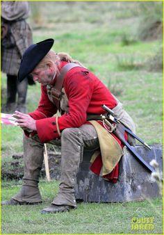 Sam Heughan Is All Bloody on 'Outlander' Season 3 Set: Photo #3741878. Sam…