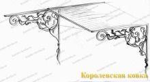 Кз-17 Кованый козырек с двускатной крышей http://korolev-kovka.ru/kz17-kovanyj-kozyrek-s-dvuskatnoj-kryshej/  Кз-17 Кованый козырек с двускатной крышей обладает приятным дизайном и высокопрочной конструкцией, которая гарантирует надежную защиту подходу к входной двери от...