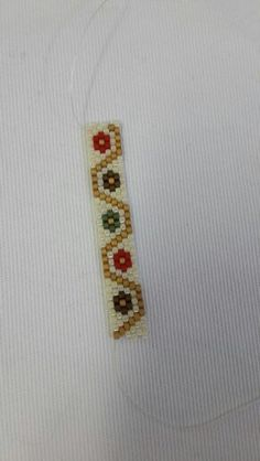 wristband I needed to show you steps to make a bracelet with natural stone and leather thread with video. Peyote Stitch Patterns, Bead Loom Patterns, Jewelry Patterns, Bracelet Patterns, Beading Patterns, Peyote Beading, Leather Thread, Seed Bead Bracelets, Beaded Bracelets