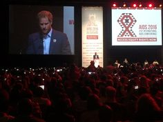 """Kensington Palace on Twitter: """"Prince Harry is now addressing the International AIDS Conference as the proud patron of @sentebale"""