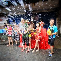 Water War (Songkran) begin