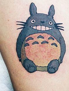 Totoro Tattoo - Lauren Winzer  http://instagram.com/laurenwinzer