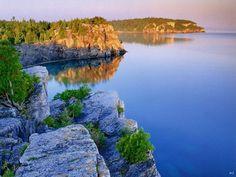 Aww my favorite lake!  Lake Huron, Michigan Watch the sun rise and set, right here!!!
