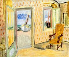 Henri Matisse   Interior at Port Ouverte