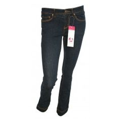 Jumping Ships Indigo Slim Leg Jeans. Sizes 8-20.