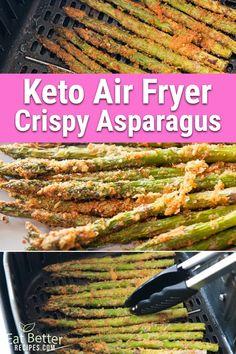 Air Fryer Recipes Low Carb, Best Low Carb Recipes, Low Sugar Recipes, Quick Recipes, New Recipes, Healthy Snacks, Healthy Eating, Healthy Recipes, Snacks Recipes