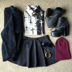 - Do you like my outfit? (3) | via Facebook