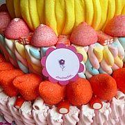 Tartas de Chuches - Donostia - Cumpleaños - Bodas - Eventos - Chuchechic 12 Ideas Originales, Peach, Birthday Cake, Candy, Desserts, Food, Events, Weddings, Tailgate Desserts