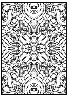 Mandala made you smile is a fun and relaxing page to color. This sheet is a great mandala coloring page