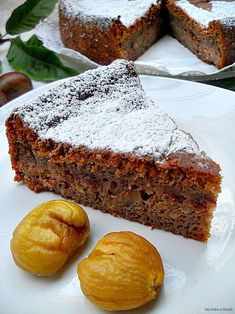 Con sabor a canela: Bizcocho de castañas gallegas Spanish Desserts, Chicken Salad Recipes, Sweet Cakes, Sweet And Salty, Sweet Bread, Cakes And More, Vegan Desserts, Let Them Eat Cake, How To Make Cake
