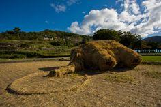The fallen mammoth, Setouchi Art Festival 2010