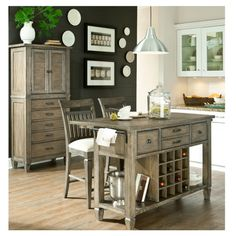 Brownstone Kitchen Island