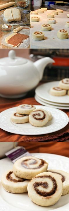 Cinnamon roll cookies #desserts #dessertrecipes #food #sweet #delicious #yummy