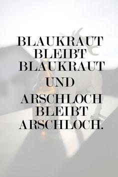 #blaukraut #arschloch #sprüche #typografie