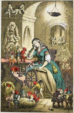 Tausendschön. Märchen für Mädchen und Knaben (1870)