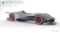 Seat GT Vision Concept 2015 / Bachelor Thesis on Behance