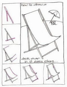 How to draw a beach scene  Step by step Drawing tutorials  Art