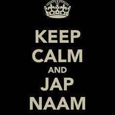 Keep Calm and Jap Naam