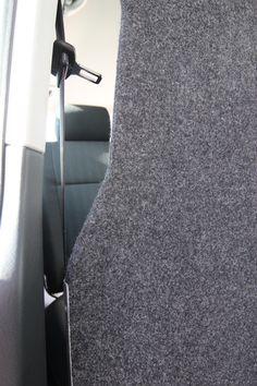 Volkswagen Transporter T6 Tamlans, Opening for Seat Belt
