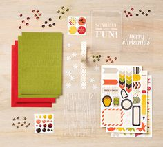 We just can't get enough of those adorable accessories from the Seasonal Snapshot collection from Project Life by Stampin' Up! #PLxSU
