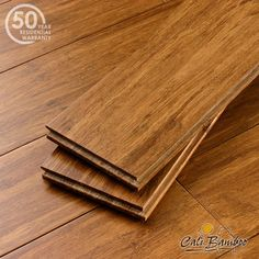Cali Bamboo Fossilized Strand Solid Bamboo, Standard Plank, Java - Excellent for pet owners!