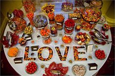 ultimate fal candy buffet