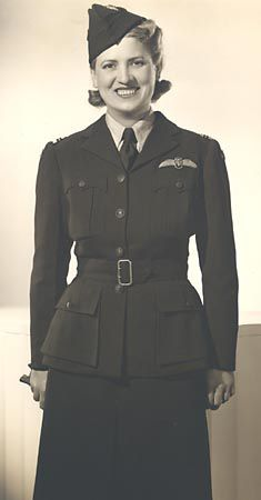"""Before the United States joined World War II, Cochran was part of """"Wings for Britain"""", an organization that ferried American built aircraft to Britain, becoming the first woman to fly a bomber, (a Lockheed Hudson V) across the Atlantic. In Britain, she volunteered her services to the Royal Air Force for ATA,1942 she recruited 25 female US pilots came to Britain to join the ATA. 1943, back to US, director of the Women Airforce Service Pilots, she supervised the training hundreds of women…"""