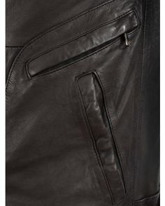 Blouson Cuir Homme marron Oakwood : http://www.la-canadienne.com/collection-homme/cuirs-blousons-mouton-dark-brown-marron-oakwood_4868.html