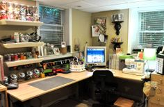 ideally (one day) this is what my craft table/room would look like :)