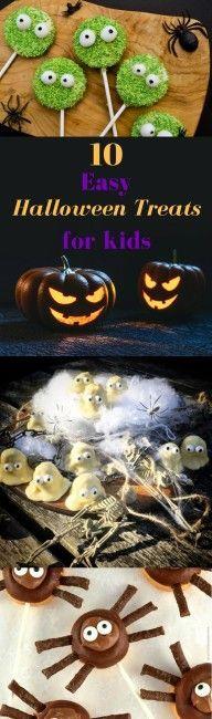 10 easy halloween treats for kids