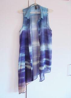 Kup mój przedmiot na #vintedpl http://www.vinted.pl/damska-odziez/bluzki-bez-rekawow/9969815-elegancka-mgielka-ala-ombre-asymetryczna