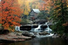 Glades Creek Mill, W.Va. - Photograph at BetterPhoto.com