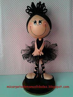 Mi carpeta de Manualidades: Fofuchas Bailarinas