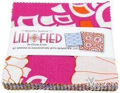 Lili-fied Charm Pack - Benartex Fabrics - Benartex