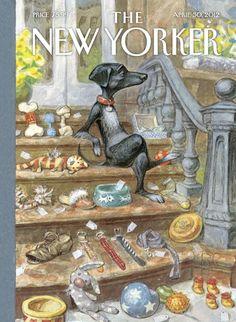 peter de seve | Cover Story: Peter De Seve : The New Yorker