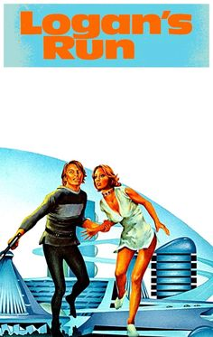 Logan's Run - art by Charles Moll (1976)
