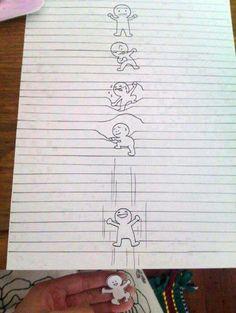 Dibujo en secuencia