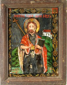 Imagini pentru icoane pe sticla vechi Macedonia, Cool Stuff, Painting, Icons, Art, Art Background, Painting Art, Symbols, Kunst