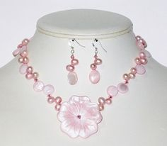 #PinkNecklace by AngieShel Designs