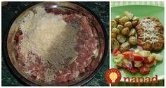 Namiestoobyčajných fašírok som skúsila túto lahôdku: K mletému pridajte syr a obaľte v špeciálnom trojobale, je to ešte lepšie ako rezeň! Syr, Grains, Rice, Recipes, Food, Essen, Meals, Ripped Recipes, Eten