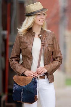 Leather Jacket ==