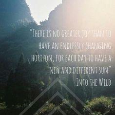 The adventurous life!