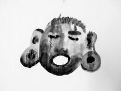 gouache sobre paper Gouache, Skull, Paper, Color, Art, Art Background, Kunst, Colour, Skulls