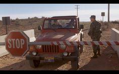 Red Jeep Wrangler – Evolution (2001) Movie Scene
