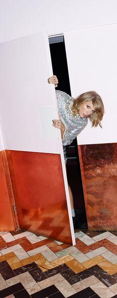 Taylor Swift for ASOS Magazine.
